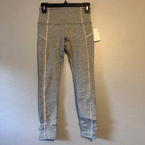 Free People Capri rouched leggings